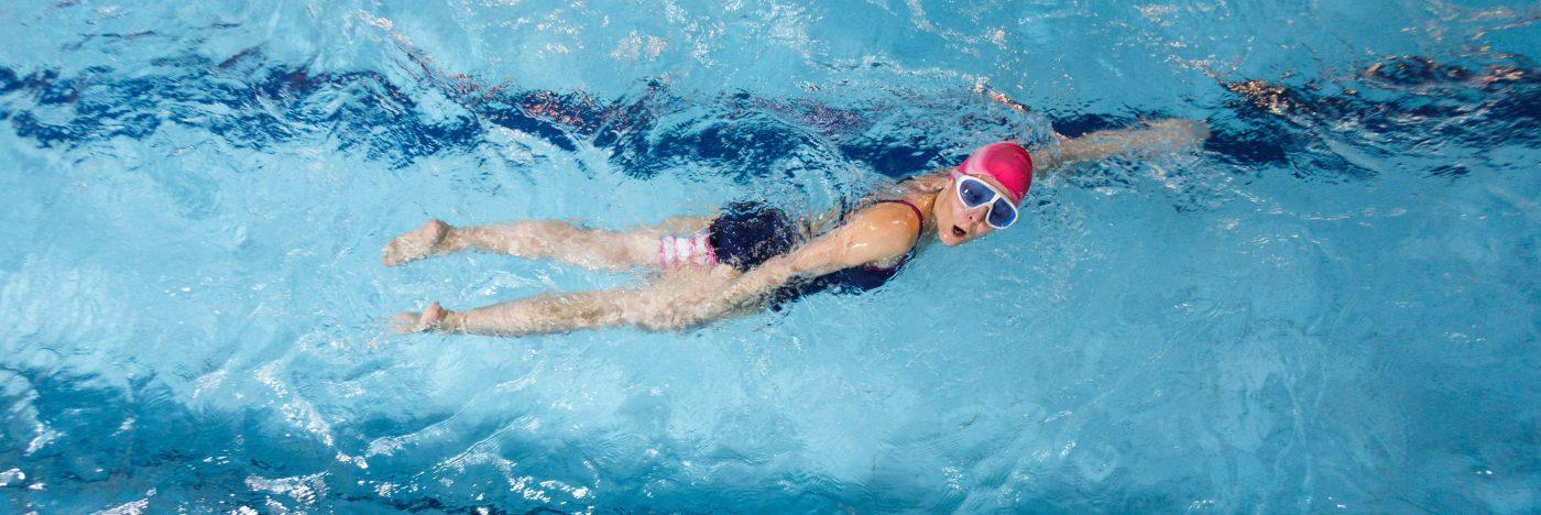 Восьмой этап обучения плаванию