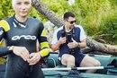Заплыв на оз.Суходольном - Сеть бассейнов клуба «Мэвис-1» обучение плаванию взрослых