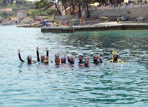 ХОРВАТИЯ 2008 ГОД — ПОЛУОСТРОВ ПЕЛЕШАЦ - Сеть бассейнов клуба «Мэвис-1» обучение плаванию взрослых