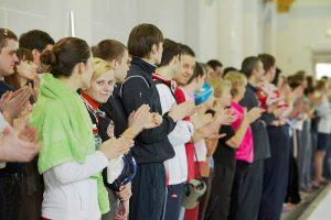 Соревнования клуба в Бассейне «Солнечный» - Сеть бассейнов клуба «Мэвис-1» обучение плаванию взрослых