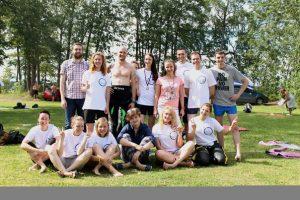 Заплыв Валдай - Сеть бассейнов клуба «Мэвис-1» обучение плаванию взрослых