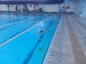 Мы отвыкли от больших 50-метровых бассейнов, в которых мало людей!